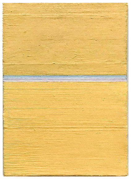 Max_height_minku_kim___s.e.p__golden_sunset____2017-18__7x5_in.__oil_on_canvas_board__collection_of_janus_smalbraak